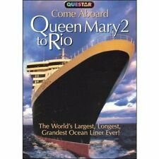 Documentary - Come Aboard Queen Mary 2 to Rio (DVD, 2005)