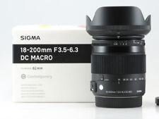 SIGMA 18-200/3,5-6,3 (C) DC MACRO HSM SONY - PERFETTO