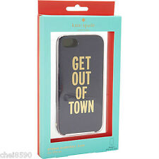 New Kate Spade iphone 5 GET OUT OF TOWN Hybrid Hardshell NIB