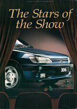 Peugeot 106 XS 306 XSi S-16 405 605 1993 UK Market Motorshow Sales Brochure