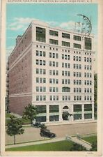 Southern Furniture Expo Bldg High Point NC Postcard
