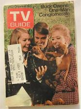 TV GUIDE NOV 1970 NANCY RENNE JARRETT IRONSIDE BUCK  OWENS TRIBES SAMANTHA JONES