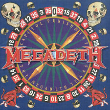 Capitol Punishment: Megadeth CD 2000 Hits Best of Dave Mustaine 14 trax BMG