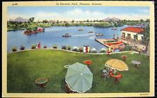 PHOENIX Arizona ~ 1940's ENCANTO PARK ~ BOAT HOUSE ~ SWIMMING & MORE