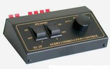 TCC TC-37 3/2  Source & Speaker  Switch; Get Connected!