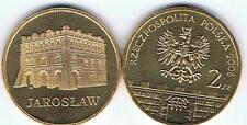 JAROSLAW 2006 historische Staedte  2 Zl Muenze Nordic Gold  BFR