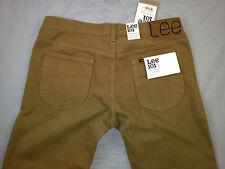 LEE 101S L970HL9 The Original Slim Rider Broze Brown Denim Jeans (Size32) $ 320