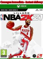 NBA 2K21 2021 Xbox One NO CD/KEY LEGGI DESCRIZIONE 5 Sec delivery 🔥