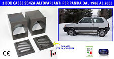 Supporti casse Fiat Panda 4x4 kit set 2 porta cassa autoradio stereo box per
