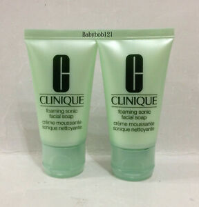Clinique Foaming Sonic Facial Soap ~ 30ml (1 fl.oz.) x 2 = 60ml