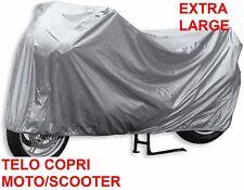 Telo coprimoto XL.Scooter, motorino,motocicletta.Impermeabile!Copri Moto Extra L