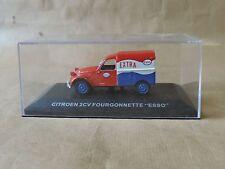 Citroën - 2CV Fourgonnette Esso Extra  + boite  échelle: 1/43 collection