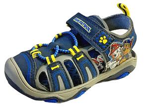 NIB Nickelodeon Paw Patrol Toddler Sz 7 Close Toe Rugged Sandal Hiking Sneaker