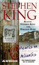 """New """"HEARTS IN ATLANTIS"""" read by Stephen King(1999,16 Cassettes)Audio Book"""