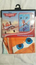 "Disney Planes Fabric Shower Curtain ""Own The Sky"" Brand New!"