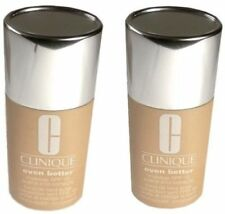 2 pc Lot CLINIQUE Foundation 29 Latte Even Better Evens & Correct Makeup