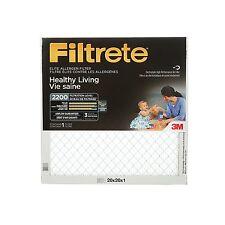 Filtrete Healthy Living Elite Allergen Reduction Filter Mpr 2200 20X20X1 3 PACK