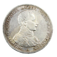 Pièce Argent Allemagne 5 Mark Guillaume II 1914 Silver Coin Germany