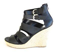 f504f2c407db Women Shoes Black Straps Wedge Platform