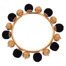 DOLCE & GABBANA RUNWAY Sicily Sicilia Natale Armband Bracelet Schwarz Gold 06450