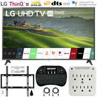 "LG 75UM6970 75"" HDR 4K UHD Smart IPS LED TV (2019) + Wall Mounting Bundle"
