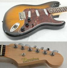 Bacchus Special Order Stratocaster Type Crews Lip Stick PUs Used Electric Guitar