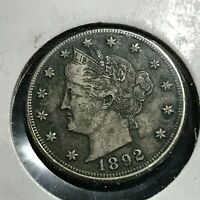 1892 LIBERTY NICKEL IN HIGHER GRADE