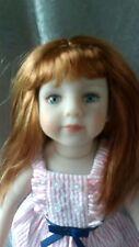 """NIB Maru and Friends 13"""" Savannah Doll designed by Dianna Effner"""