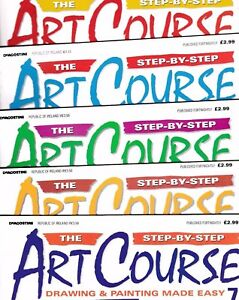 Various Issues of THE STEP-BY-STEP ART COURSE Magazine DeAgostino 1998-2003