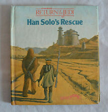 STAR WARS RETURN OF THE JEDI HAN SOLO RESCUE POP UP BOOK