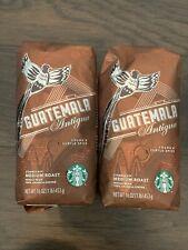 Starbucks Guatemala Antigua Whole Bean Coffee 2 lbs  New Sealed HTF