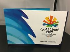 2018 Gold Coast Commonwealth Games 7 coin collection.
