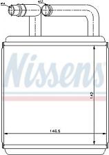 Wärmetauscher, Innenraumheizung NISSENS 77618 für HYUNDAI