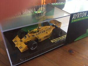 Ayrton Senna 1:43 LANG No: 15 Lotus 99T Honda Turbo