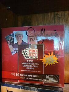 "Pro Set 1991 NHRA Drag Racing Cards, ""Big Daddy"" Don Garlits Autograph"