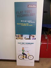 "ELECTRA CRUISER BICYCLE ADVERTISING ADVERTISEMENT SIGN BOARD 20"" X 60"""