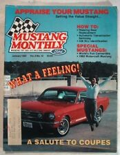 MUSTANG MONTHLY 1984 JAN - TELL A 428CJ FROM A 428SCJ