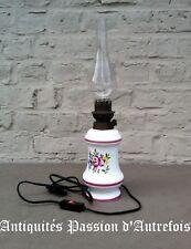 B20171043 - Lampe électrique 43 cm en faïence - TB état - Fonctionne