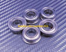[QTY 5] SF6800zz F6800zz (10x19x5 mm) 440c Stainless Steel FLANGED Ball Bearing