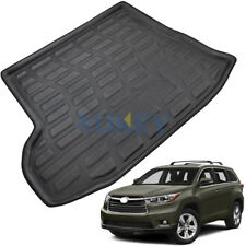 Cargo Trunk Mat Boot Liner Floor Tray For Toyota Kluger / Highlander 2014-2018