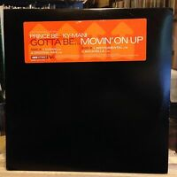 """[RAP]~NM 12""""~PRINCE BE : KY-MANI~Gotta Be..Movin' On Up~[x4 Mixes]~[1997]"""