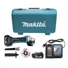 """Makita DGA402RFE Cordless 18V 3.0Ah Li-ion 4"""" 100mm Angle Grinder / 220V Charger"""
