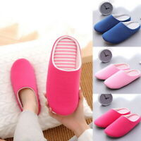 Unisex Comfy Indoor Slippers Warm Slip On Soft Couple Daily Slippers House Shoes