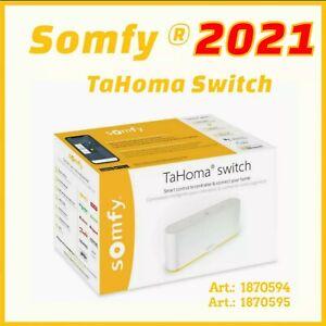 SOMFY Tahoma SWITCH RTS io Zigbee 1870595 / 1870594 SMART STEUERUNG SMARTPHONE