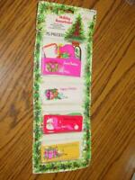 (75) VINTAGE Christmas Tags Set - (SEALED) Holiday Assortment - CPS & Pranges