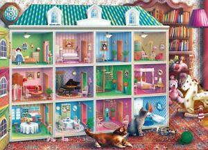 Jigsaw Puzzle Inside Out Sophia's Dollhouse Child's Imagination 1000 pieces NEW