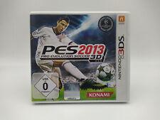 Pro Evolution Soccer/PES 2013 (Nintendo 3DS Spiel, 2012) Mit OVP/Case