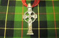 ST PATRICK'S DAY SALE! IRISH AHENNY CELTIC CROSS PENDANT Sterling silver new!