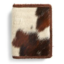 RRL Ralph Lauren Italian Haircalf Vertical Card Wallet-MEN