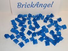 NEW LEGO Blue 2X2 45° Slope Bricks Wedge Roof Lot of 100 Pieces 3039